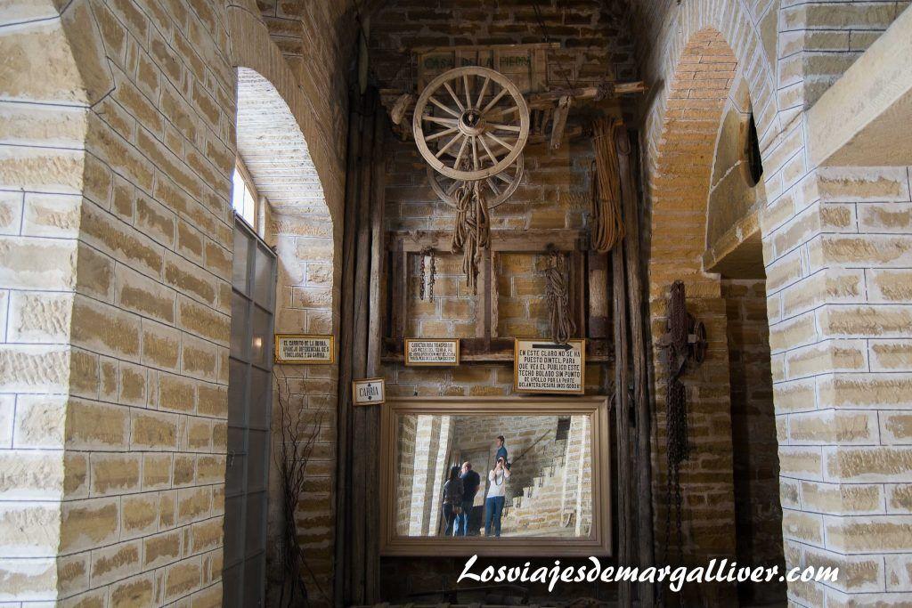 sotano de la casa de la piedra de Porcuna - Los viajes de Margalliver